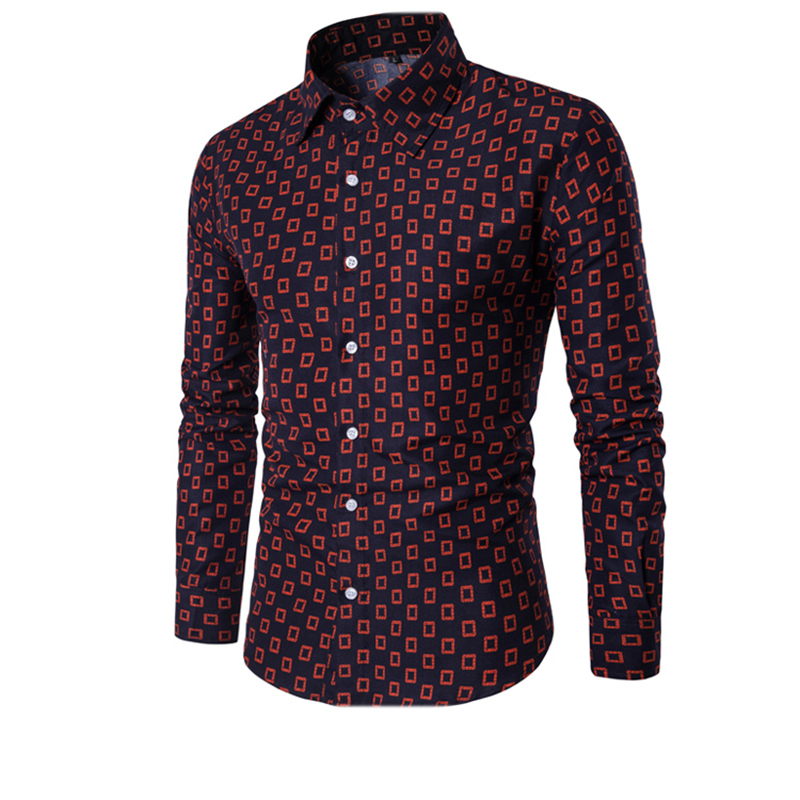 Online Buy Wholesale men's patterned dress shirts from China ...