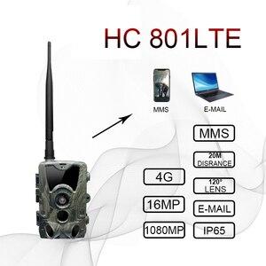 Image 2 - הכי חדש ציד מצלמה GPS אלחוטי 4G LTE מרחוק APP בקרת Camo ציד משחק שביל מצלמה חיות בר תמונה מלכודת צופים HC 801A
