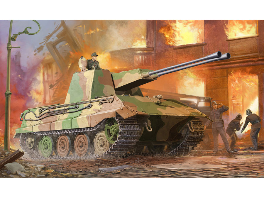 1pcs Action Figures Toy Kids Gifts Toy Collection For Trumpeter 1/35 01539 German E-75Flakpanzer Model Kit 1pcs action figures toy kids toy collection for trumpeter 1 35 scale model 05531 sd kfz 6 5 tonne semi crawler artillery tractor