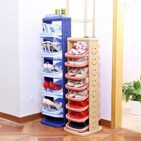 Shoe Cabinets Shoe Rack Home Furniture Plastic Shoe Organizer Rotating  Chaussure Rangement Schoenen Rek Zapateros Almacenaje
