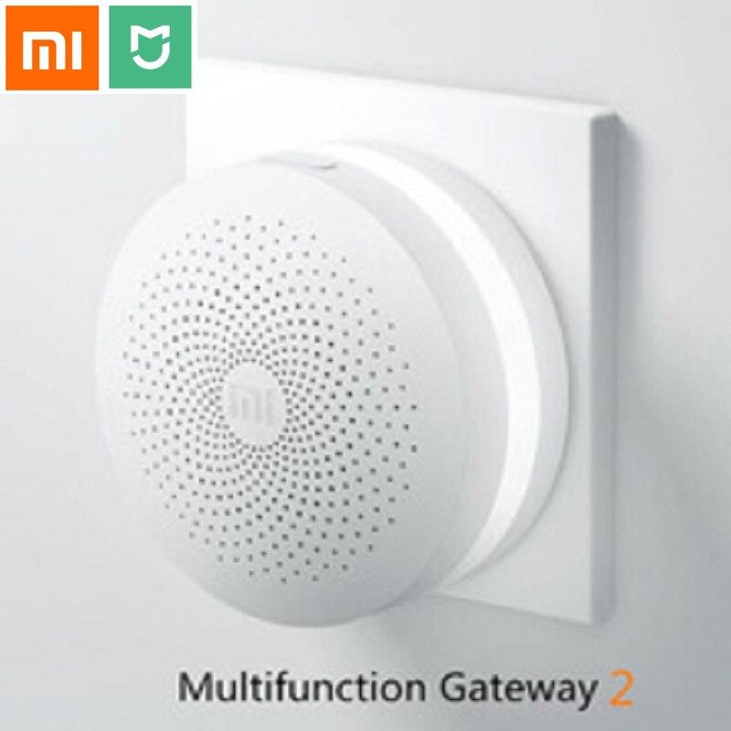 2017 Original xiaomi Smart Home wireless Multifunctional intelligent Gateway with <font><b>Temperature</b></font> and Humidity Sensor Smart Socket