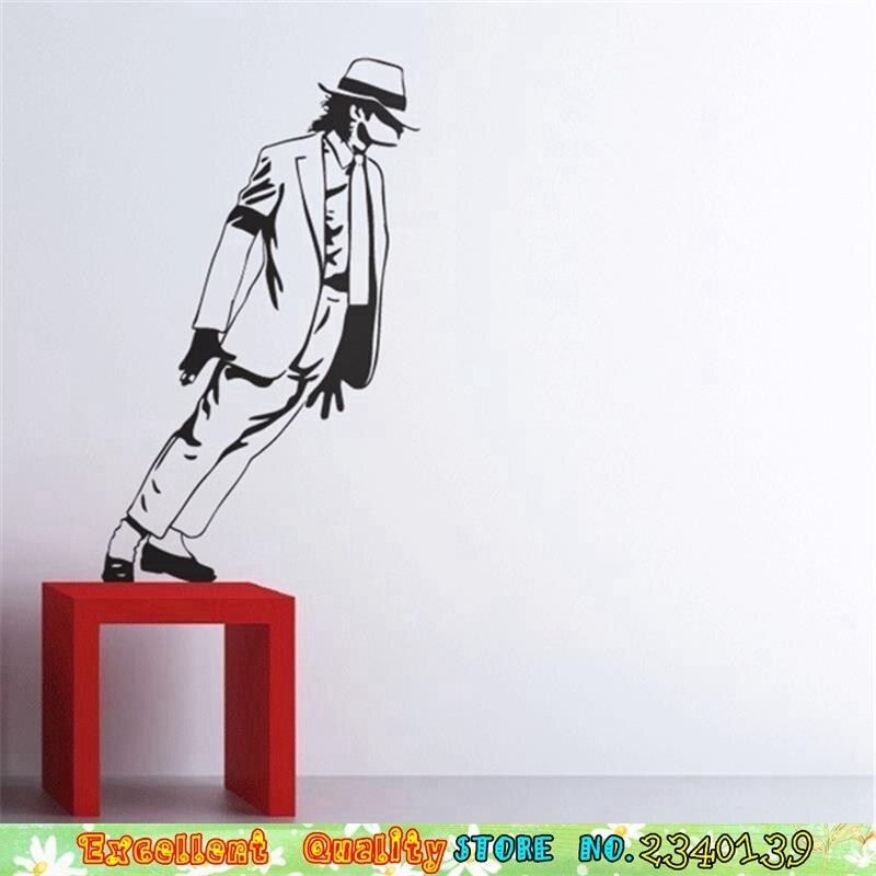 Dancing Pokoju Naklejki ścienne Michael Jackson Plakat Na