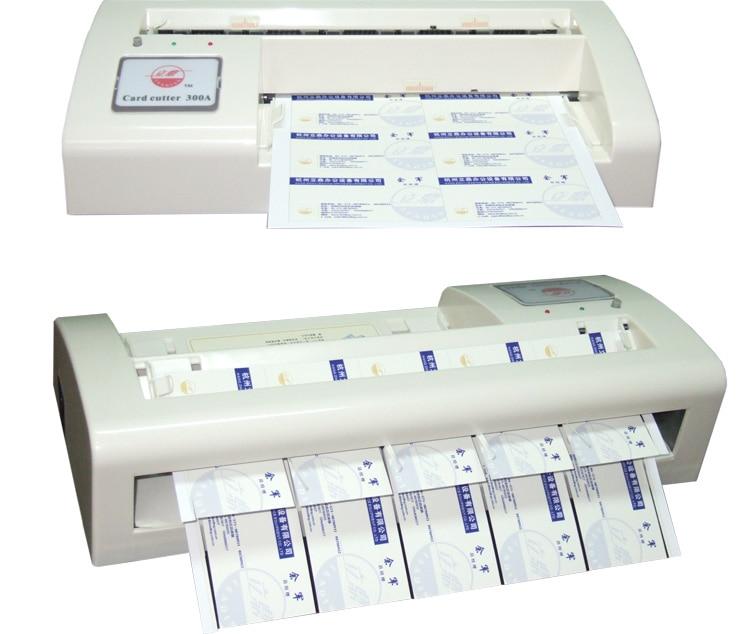 新しい 300A インテリジェント 90 × 54 ミリメートル A4 サイズビジネス名カード紙 X2.1 切断機  グループ上の ツール からの 工具部品 の中 1