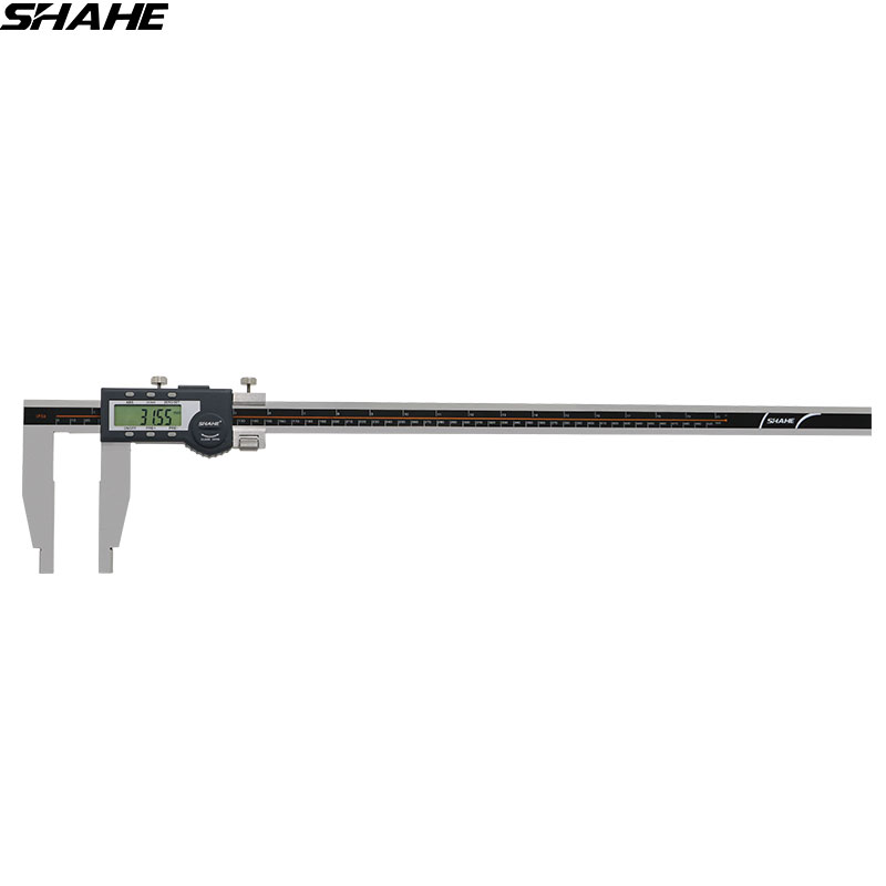 SHAHE 500 mm Digital Vernier Caliper Gauge Electronic Caliper LCD Micrometer Caliper Stainless Steel Measuring Tool digital diai gem caliper measures from 0 12 7 mm 0 5 by 0 01 mm 0 0005 goldsmith tool caliper jewelry measurement tools