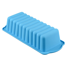 Rectangle Non Stick Bread Loaf Cake Mold Bakeware Baking Pan Mould Silicone