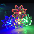3M 30LEDs Colorful Battery Operated Flower Lights Fairy LED Light String For Outdoor Christmas Home Garland Decoration Lamps