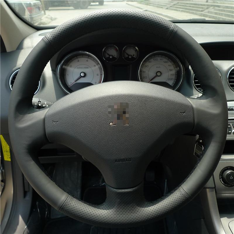 BANNIS қара жасанды былғары DIY ескі Peugeot - Автокөліктің ішкі керек-жарақтары - фото 3