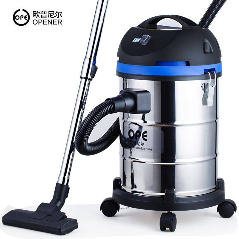 OPE Home Strong High Power Vacuum Cleaner Handheld Dry and Wet Blowing CAR WASH Industry Decoration Commercial Barrel Cleaners alton portable vacuum cleaner home barrel wet and dry dual use vertical strong high power small hand hold mute cleaners