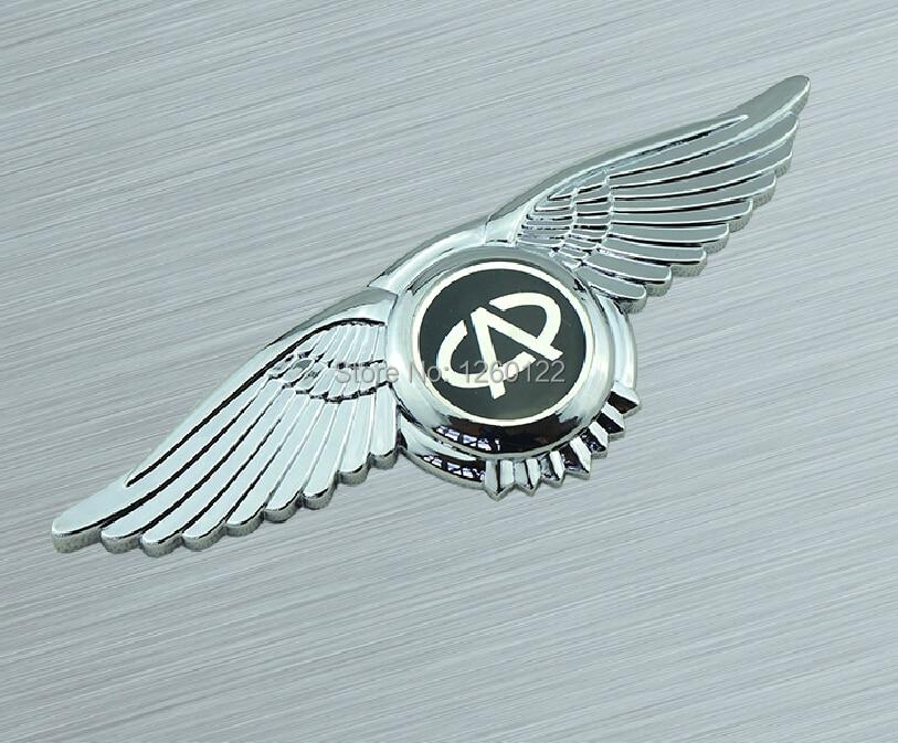 Fit Chery Emblem Badge Wings Vip Car Logo 3m Tape Front Hood Bonnet