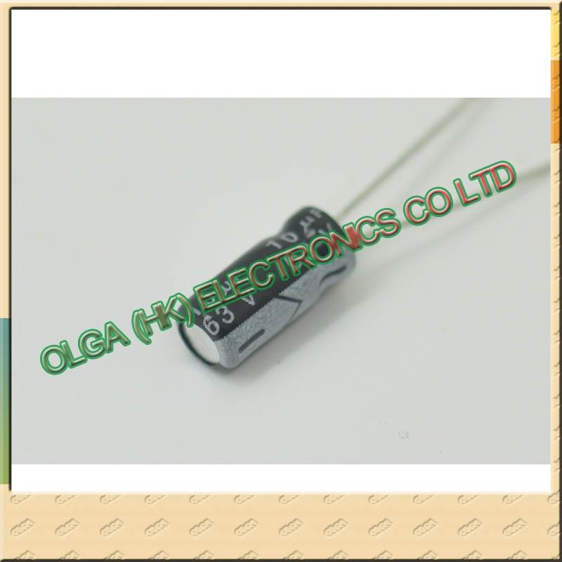63 years 5 x11 electrolytic capacitor 10 uf63v v10uf volume