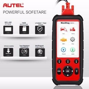 Image 2 - Autel MD808 PRO полная система OBD2 автомобильный диагностический инструмент для двигателя, коробки передач, SRS и ABS с EPB, сброс масла, DPF, SAS,BMS