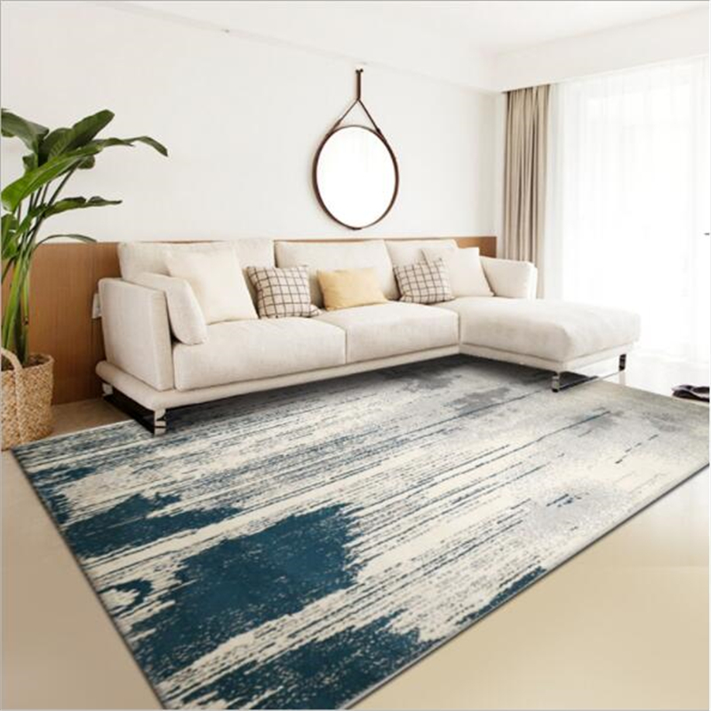 2018 New Modern Abstract Style Carpets For Living Room Bedroom Kid Room Rugs Home Carpet Floor Door Mat Delicate Hot Area Rug