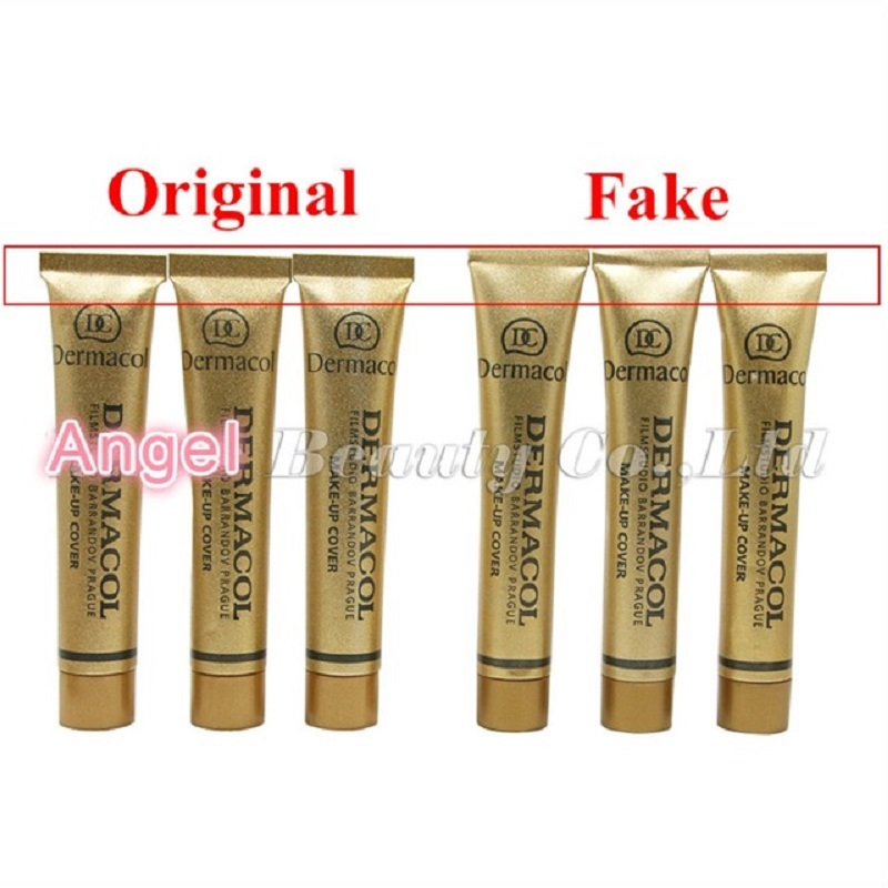 100% Original Dermacol Make up Cover 30g Base Dermacol Professional Primer Concealer Face Makeup Foundation Contour Palette Base pianurastudio платок