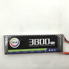 MOS 2S lipo battery 7.4v 3800mAh 40C For rc helicopter rc car rc boat quadcopter Li-Polymer battey free shipping