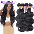 10A Peruvian Virgin Hair Body Wave 4 Bundles Queen Rosa Hair 100% Human Hair Extensiones De Pelo Natural Tissage Bresilienne
