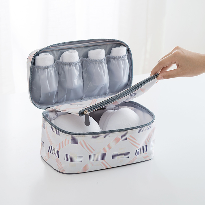 Waterproof Underwear Bra Storage Box Closet Drawer Organizers Travel Socks Towel Container Lingerie Bags Makeup Boxes