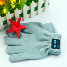 Hot-selling security winter gloves bluetooth gloves for good telephones.
