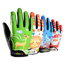 Boodun Childrens Motorcycle Cycling Gloves Long Finger Kids Breathable Comfort Non-slip Skate Outdoor Boys Girls Safety