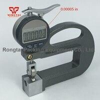 0 10 мм колеса 0.001 мм Цифровой Тип Толщина тестер/Толщина прибор для кожи, Бумага
