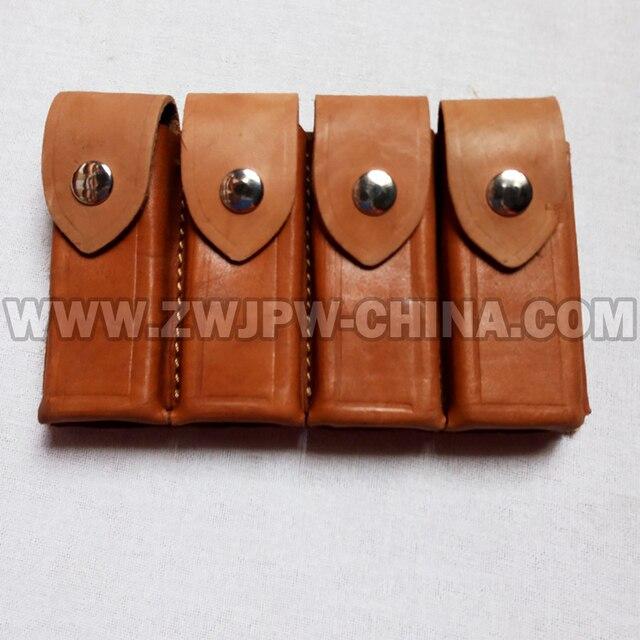 Mauser Vervierfachen Ammo Clip Package Real Leder Hersteller Cn