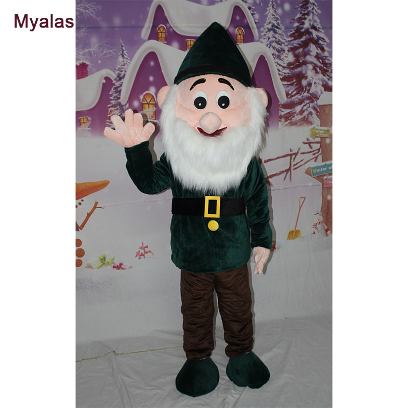 Dwarfs Mascot Costume Cartoon Apparel Masquerade Birthday party Cosplay Mascot Costume And Halloween Costume Customize