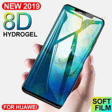 5D Protective Soft Hydrogel Film For Huawei Mate 20 P30 P20 Pro Lite Screen Protector Film For Honor 8X 10 Lite 9 V20 Not Glass цены