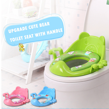 Cheap baby potty seat toilet seat ring children portable toilet seat auxiliary soft toilet cover фото