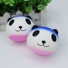 Kawaii Smile Face Colorful Panda Head