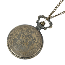 1Pcs Cindiry Brand Vintage Bronze Doctor Quartz Pocket Watch Fashion Who Style Best Gift Necklac Pendant Steampunk new arrival hot uk tv doctor who theme series fashion quartz pocket watch chain necklace pendant watches dr who fans gift 2017