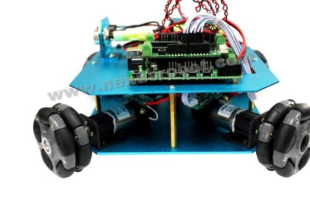 4WD 58 მმ Omni ბორბალი Arduino Robot Kit - სასკოლო და სასწავლო მასალები - ფოტო 2