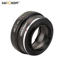 K & F Concept OM-FX objectif Bague D'adaptation Pour Olympus OM Lens pour Fujifilm Fuji x-Pro1 x-E1 x-M1 x-A1 Caméras corps