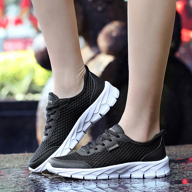 48 Malla Black Light Tamaño grey Fm202 Transpirable Calzado Casuales Caminar dark Hombre Hombres blue Zapatillas Más Grey Para Tenis Cómodos Zapatos Super BA4ZT