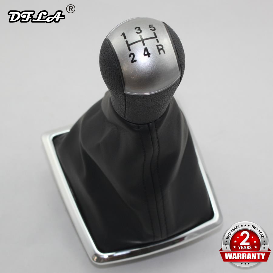 For Ford Focus 2 2005 2006 2007 2008 2009 2010 2011 Kuga Fiesta Car styling 5 Speed Manual Gear Stick Shift Knob Leather Boot in Gear Shift Knob from Automobiles Motorcycles