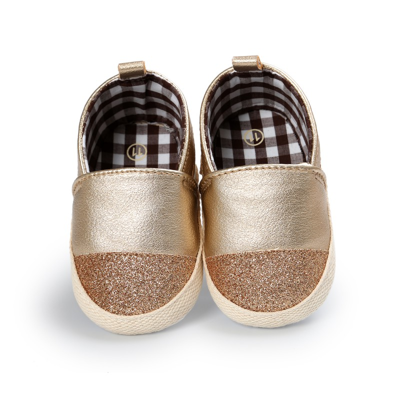 Newborn Baby Girls Boys Shoes PU Leather Mixed Colors Infant Toddler Kids First Walkers Non-slip Soft Soled Loafers 12