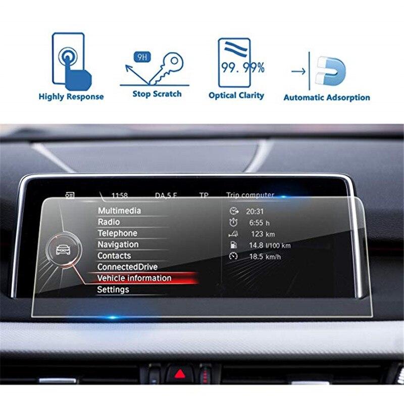 Para BMW X5/X6 2014-2018 F15 F16 Protetor de Tela de Navegação Do Carro Da Tela de Toque de Vidro Temperado Protetor de Tela