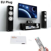 HDMI цифровой DVB-T/T2 ТВ коробка VGA AV CVBS тюнер приемник с пультом дистанционного управления Управление 1080 P цифрового ресивера для ТВ