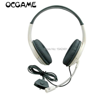 OCGAME Headphone Earphone White Big Gaming Chat Headset With MIC Microphone For xbox360 Xbox 360 Live