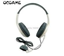 OCGAME casque écouteur blanc grand jeu Chat casque avec micro Microphone pour xbox360 Xbox 360 en direct