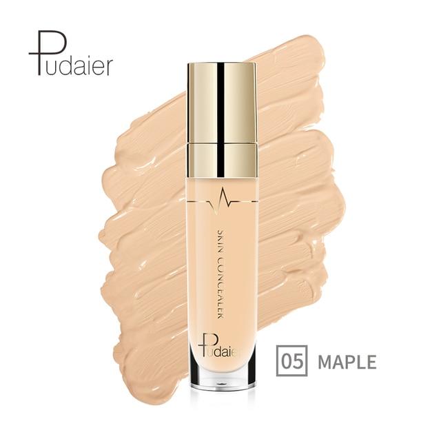 Pudaier 1 PC 21 colores Corrector líquido rebobinado belleza cara maquillaje Círculos oscuros Primer borrador Corrector Base de Base