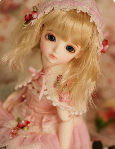 luodoll bjd doll sd doll baby girl Hani 1 / 6bjd makeup to send a full set of baby
