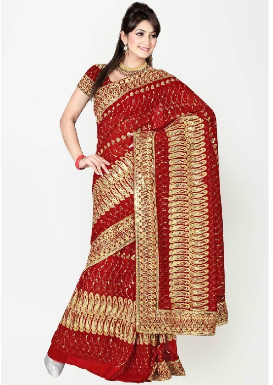 Yarn Indian Georgette Paillette Saree Dress India Sari In Dresses From Women S Clothing Accessories On Aliexpress Alibaba Group