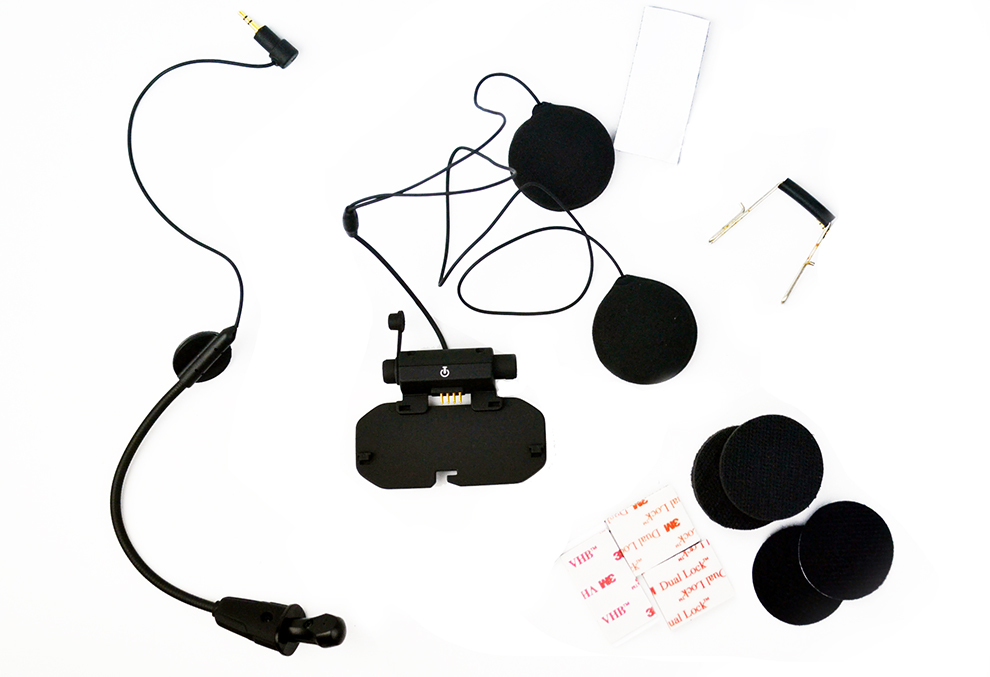 Easy Rider Audio & Mic Kit For Original Vimoto V8 Helmet Intercom Headset Base Microphone Accessories