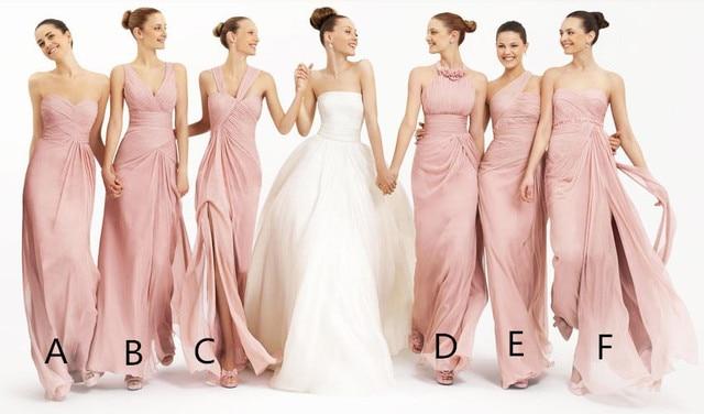 5c8844b57 Venta caliente clásico multi vestidos de modelos para damas de honor  vestidos de madrina dama de