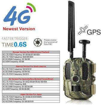 Photo-traps 4G Hunting Trail Camera MMS GSM GPRS Digital Scouting Hunter Game Camera GPS/SMTP/FTP Wildcamera Trap Foto Chasse
