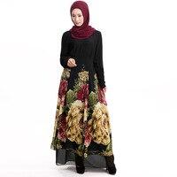 2016 High Good Quality Latest Arab Elegant Abaya Kaftan Islamich Fashion Muslim Dress Clothing Design Women