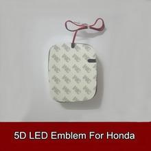 1pcs 5D Led Rear Emblem Car Logo Light Badge Bulb for Civic CR-V New Fit Odyssey Accord Car Styling