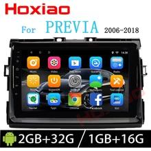 Hoxiao Android для TOYOTA Estima/PREVIA/Tarago/canarado gps HD мультимедийный плеер Карта Навигация wifi 9 дюймов 2DIN Автомагнитола