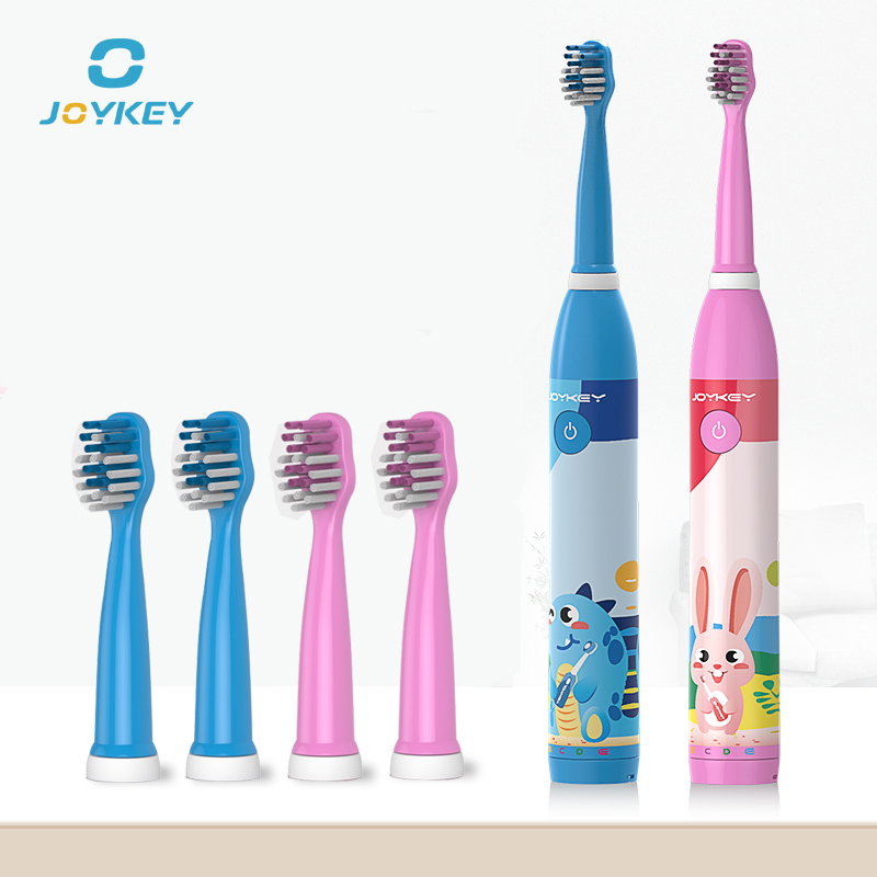 Children Electric Toothbrush Cartoon sonic Toothbrush Oral Hygiene Teeth Care Tooth Brush Kids Rechargeable toothbrush JOYKEY K1 цена