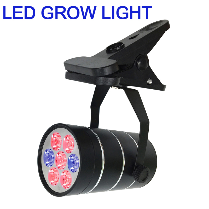 LED Plant Grow Light, 360 Degree Adjustable Indoor Plant Lights with Clip for Office, Home, Indoor Greenhouse flower grow lamp