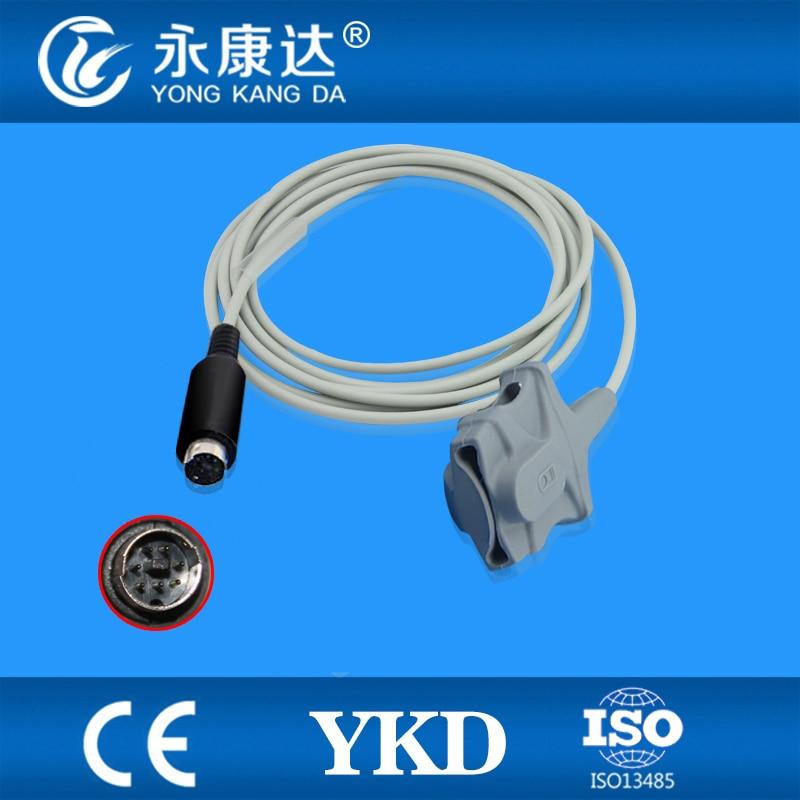 Compatible MEK-(CSI model) adult soft tip SpO2 Sensor 3m,7pins,TPUCompatible MEK-(CSI model) adult soft tip SpO2 Sensor 3m,7pins,TPU